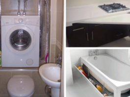 20 гениальных идей по экономии пространства в маленькой квартире