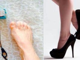 Этот трюк поможет ходить на высоких каблуках без боли и дискомфорта! Это реально работает!