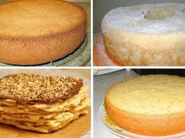 Лучшие коржи для тортов. 6 рецептов приготовления