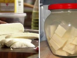 Молоко, сметана и лимонный сок — всё, что понадобится для этого нежнейшего домашнего сыра