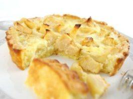 Низкокалорийный яблочный пирог на кефире: для тех, кто на диете!