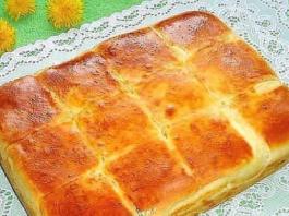 Очень вкусный пирог с сыром