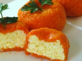 Острая сырная закуска «Мандаринки»