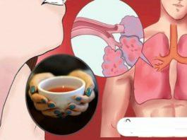 Пейте этот чай, и вы выведите мокроту из легких, токсины и избавитесь от воспалений!