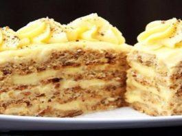 Рецепт ореховых пирожных