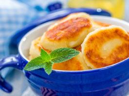 Сырники с изюмом: завтрак стройных!