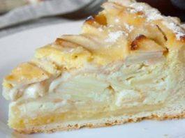Яблочный пирог с начинкой (Цветаевский)