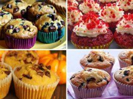 5 лучших рецептов приготовления домашних кексов!