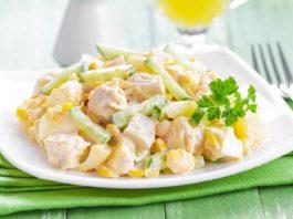 5 вкуснейших салатиков с высоким содержанием белка