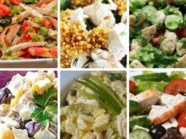 6 диетических рецептов салатов из курицы, они разнообразны, полезны и очень вкусный!