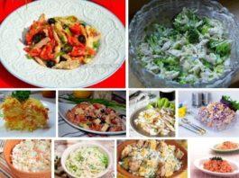 Десятка низкокалорийных салатов для стройной фигуры