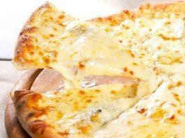 Низкокалорийная творожно — сырная пицца . Пальчики оближешь!