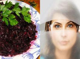 Очень полезный салат из свеклы! Восстановит зрение, очистит почки и кишечник!