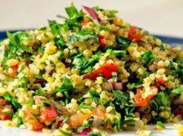 Очень сытный салат «Табуле»!