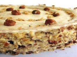 Ореховый торт. Для тех, кто любит орехи!
