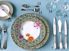 Потрясающе полезная шпаргалка для хозяек: сервируй стол правильно!