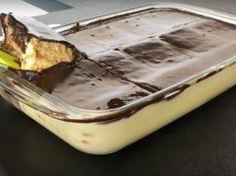 Супер вкусный десерт — Просто залил и готово!