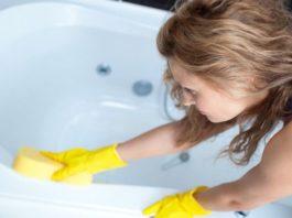 Такой чистоты ты еще не видел! Белоснежная ванна за 5 минут