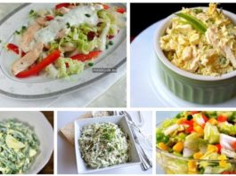 ТОП 5 вкусных и полезных диетических салатиков
