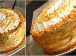 Торт «Milchmädchen» («Молочная девочка»)