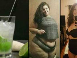 Я потеряла 65 кг в течение 6 месяцев, этот напиток из 2 ингредиентов действительно способствует потере веса !!!