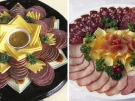 Хозяйке на заметку: 20 шикарных вариантов, как оформить мясную нарезку