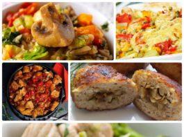 5 рецептов для позднего ужина с калорийностью менее 100 ккал