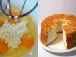 Как испечь пышный бисквит