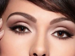Потрясающий макияж для карих глаз!