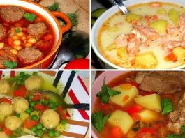 Шикарная подборка первых блюд. 10 вкуснейших рецептов