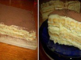 Торт А-ля тирамису очень вкусно