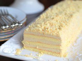 Торт «Славянка» с невероятным кремом, нежнейшим и не совсем обычным!