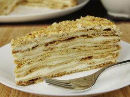 Торт заварной медовый