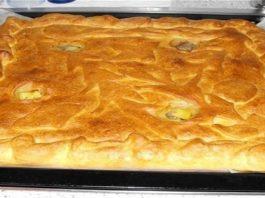 Вкусный и простой пирог с картофелем и курицей