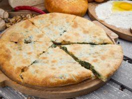 Хачапури с сыром и зеленью. Это так вкусно, что словами не передать!