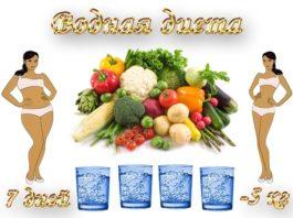 Лучшая водная диета: вы можете терять по 450 г каждый день