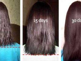 Ее волосы растут очень быстро с этим ингредиентом, проверьте ее секретную формулу!