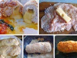 Нескучная грудка (куриная грудка с сыром в сухарях)