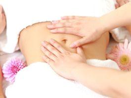 Самомассаж против жира на животе
