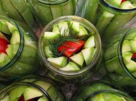 Самые вкусные маринованные кабачки — попробуйте, этот вкус вам точно понравится!