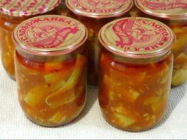 Супер-закуска «Кабачки в остром соусе»: два легких вкусных рецепта!
