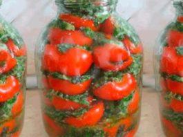 Вкуснейшие помидоры по-корейски быстрого приготовления