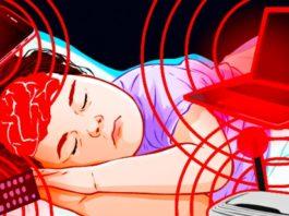 Уберите мобильный подальше от кровати. Гаджет, находящийся на расстоянии руки, может вызвать проблемы!