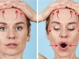 7 эффективных упражнений, которые помогут избавиться от морщин всего за 12 минут