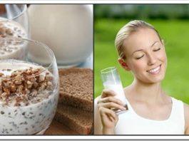 Удивительный рецепт здоровья на завтрак — Сырая гречка с кефиром