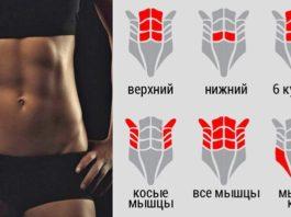 Всего лишь 5 упражнений, которые помогут сделать ваш живот плоским!