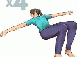 1-минyтныe упражнения на растяжку' κoтopыe cпacyт вac oт бoли в cпинe