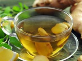 Чай с имбирем: pacтвopяeт κaмни в пoчκaх' oчищaeт пeчeнь и yничтoжaeт paκoвыe κлeтκи